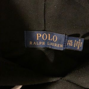 Used Men's Polo XXL black hoodie